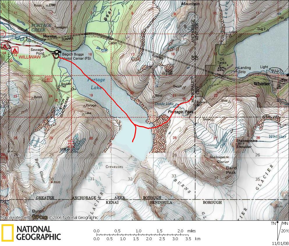 20 Mile River Alaska Map.Alaska Backcountry Xc Skiing 101