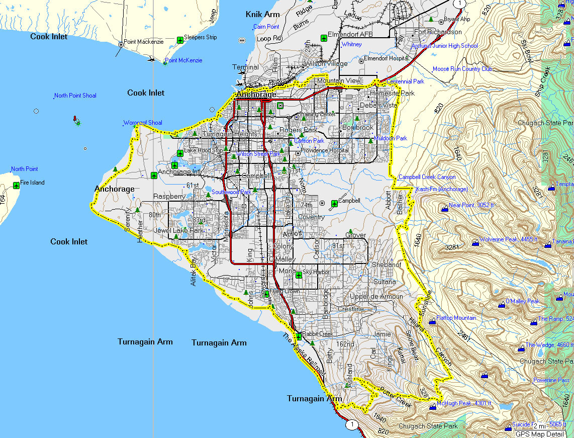 Anchorage ak urban backcountry xc skiing some example anchorage area urban backcountry xc skiing routes the maps below can give you ideas of where you can link together ubxc ski routes gumiabroncs Image collections