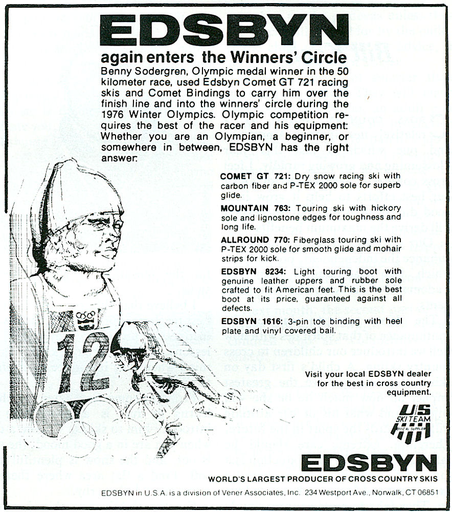 Vintage 1970s Cross Country Ski Gear Ads